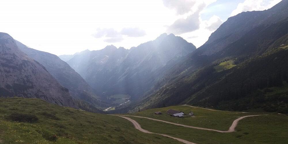 Ausblick Karwendelhaus