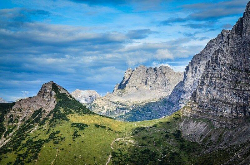 Landschaft Laliderertal