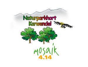 Logo des Naturparkhorts Karwendel Mosaik 4.14 in Maurach am Achensee