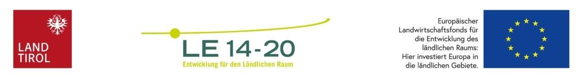 Logo EU ländliche Entwicklung Tirol