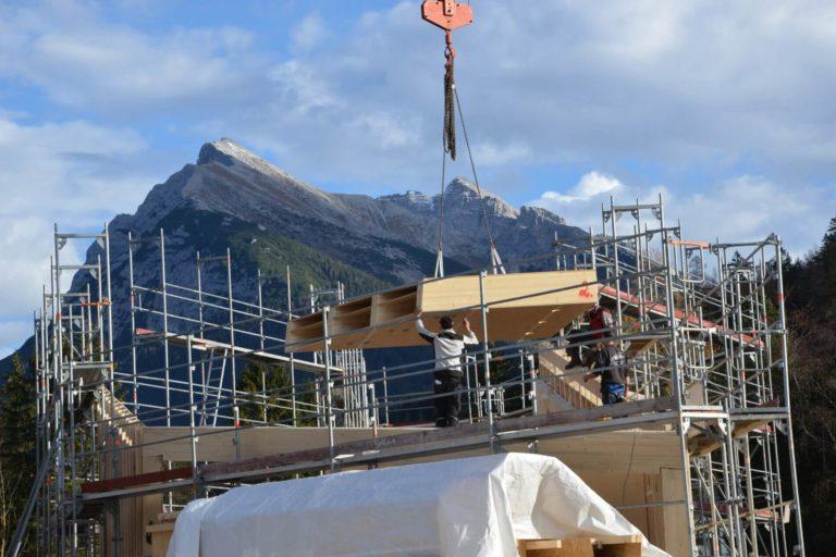 Scharnitz bekommt Infozentrum in modernem Holzbau