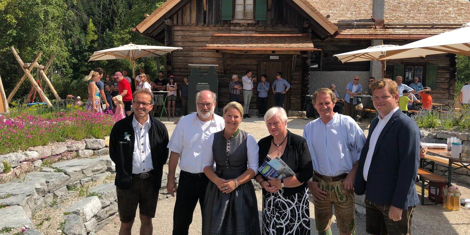 """Museum """"Holzerhütte"""" Projektpartner"""