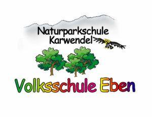 Logo der Naturparkschule Karwendel Volksschule Eben am Achensee