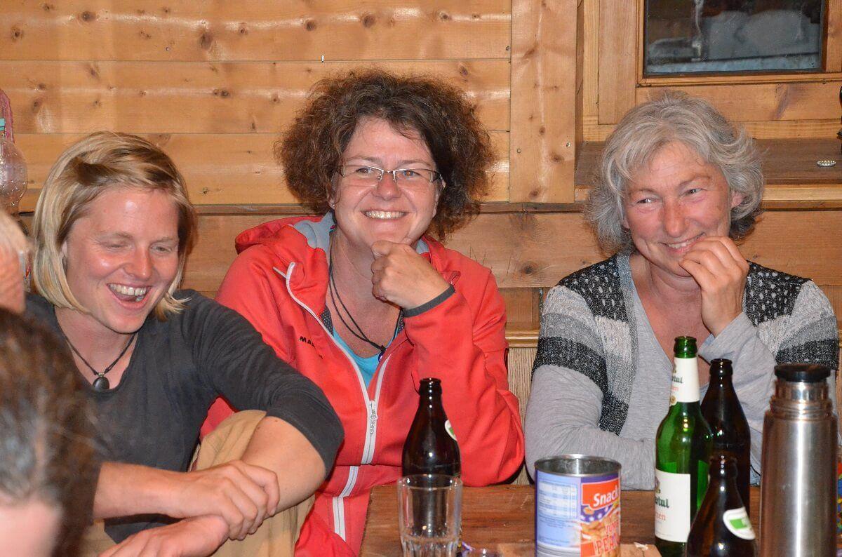 Team Karwendel auf der Lalidersalm 2016