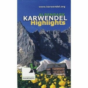 Wanderkarte Karwendel – Highlights