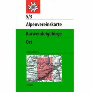 Alpenvereinskarte Karwendelgebirge Ost 5/3