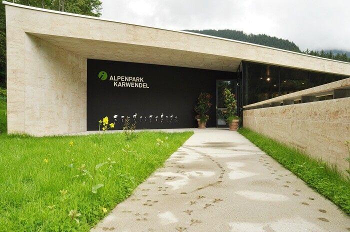 aussenansicht naturparkhaus