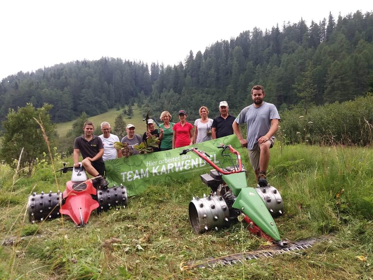 Team Karwendel am Issanger