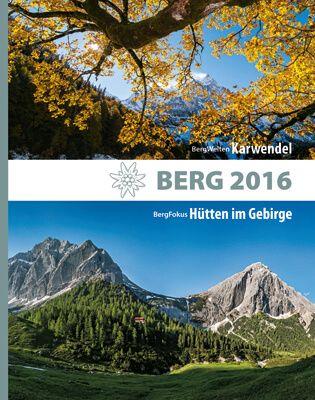 Cover Berg 2016 des Alpenvereins