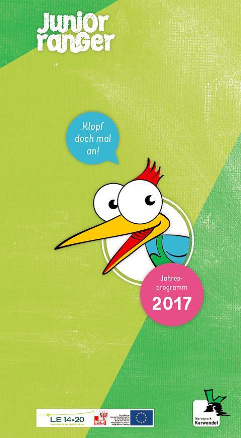 Cover Junior Ranger Jahresprogramm 2017