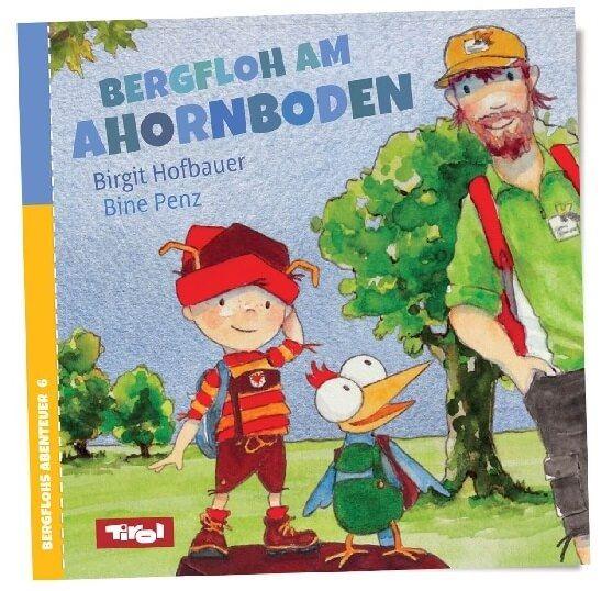 """Cover von """"Der Bergfloh am Ahornboden"""""""