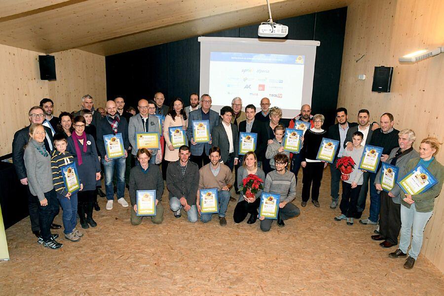 Überreichung des Euregio Umweltpreis 2016