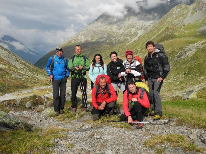 Gipfeltreffen der Tiroler Naturparke 2014 in den Zillertaler Alpen