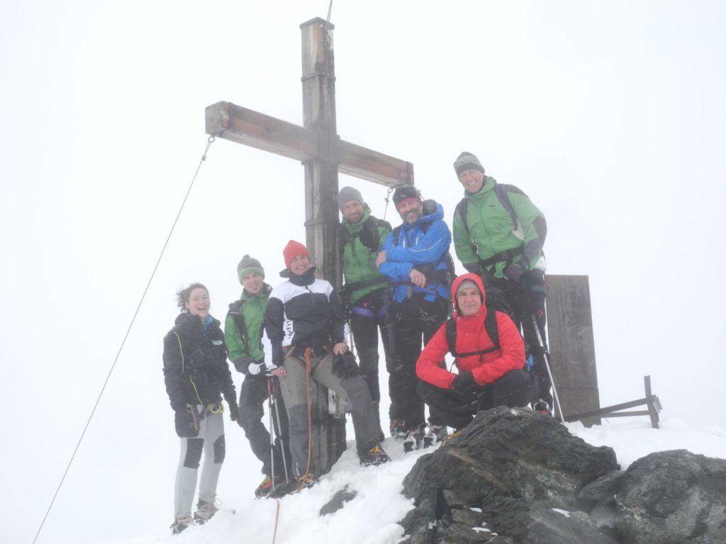 Gipfeltreffen der Tiroler Naturparke am Hochfeiler