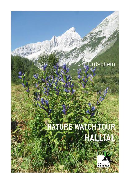 Gutschein Nature Watch Tour Halltal