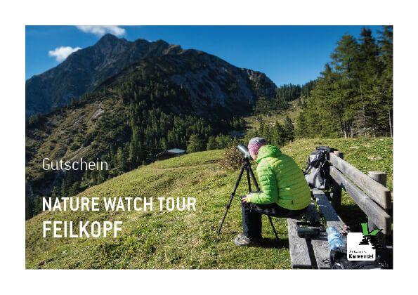 Gutschein Nature Watch Tour Feilkopf am Achensee