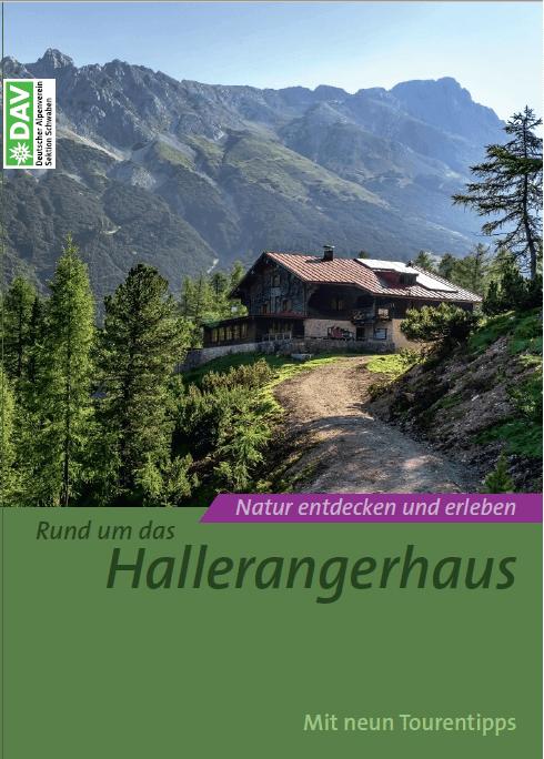 """Deckblatt des Infoheftes """"Rund um das Hallerangerhaus"""""""
