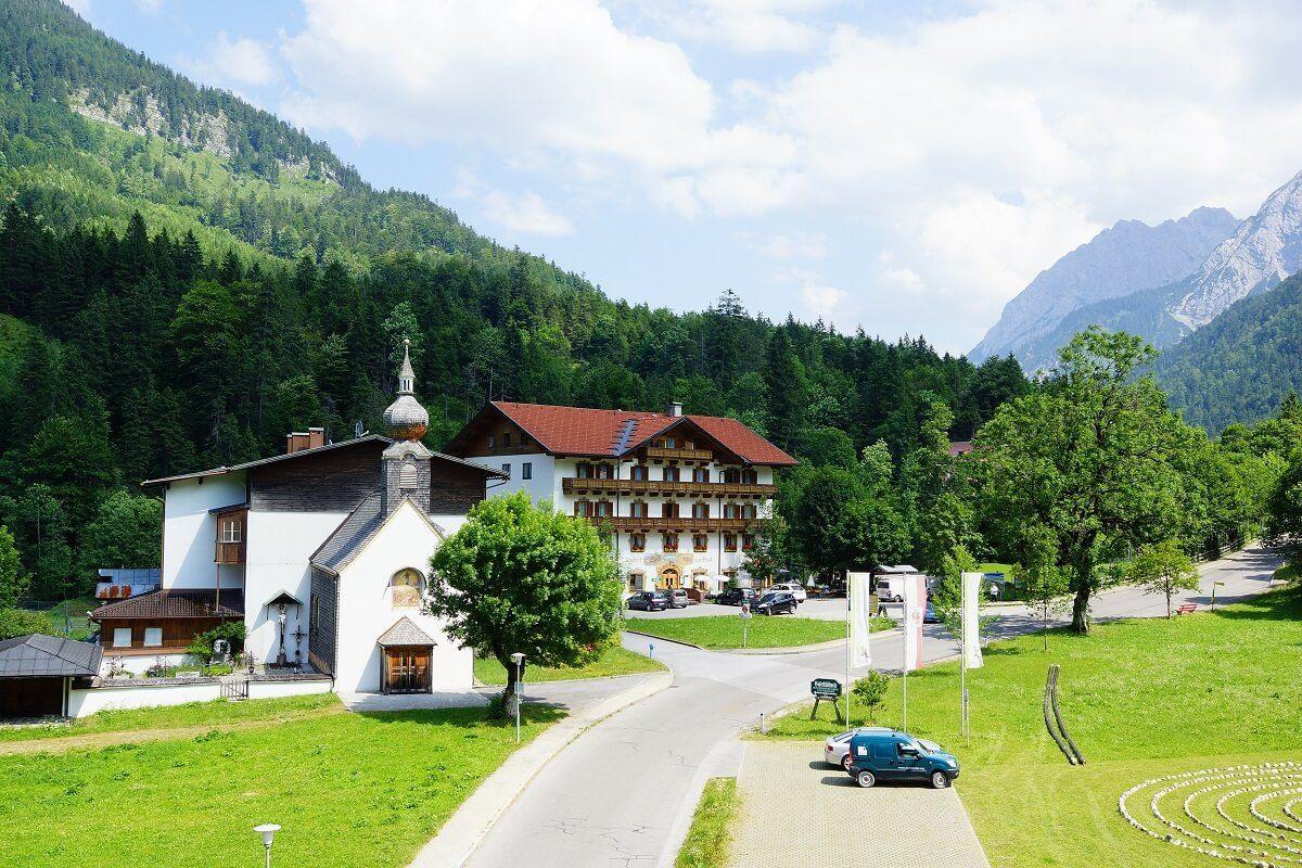 Hinterriß - einzige Dauersiedlung im Karwendel