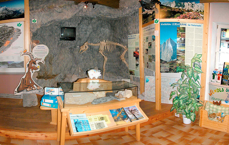 Infostelle des Naturaprk Karwendel in Scharnitz