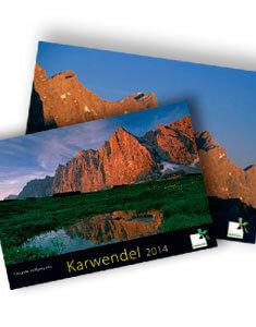 Kalender vom Karwendelgebirge 2014