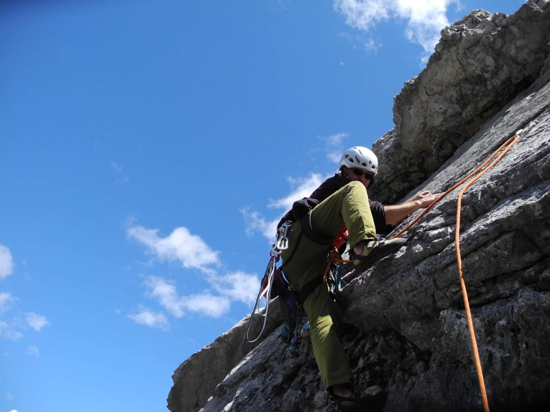 Kletterer Erlspitze