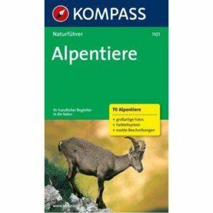 Kompass Naturführer Alpentiere