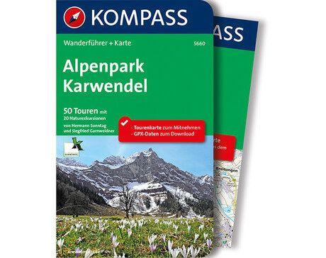 Kompass Wanderführer Alpenpark Karwendel