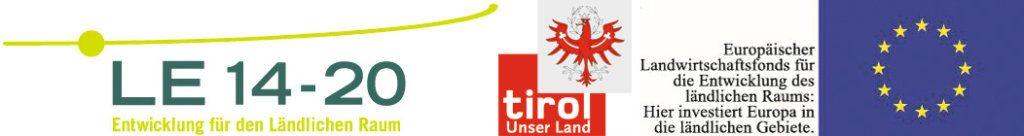 """Logo """"Mit Unterstützung von Land und Europäischer Union"""""""