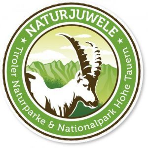 Logo Naturjuwele - Tiroler Naturparke und Nationalpark Hohe Tauern