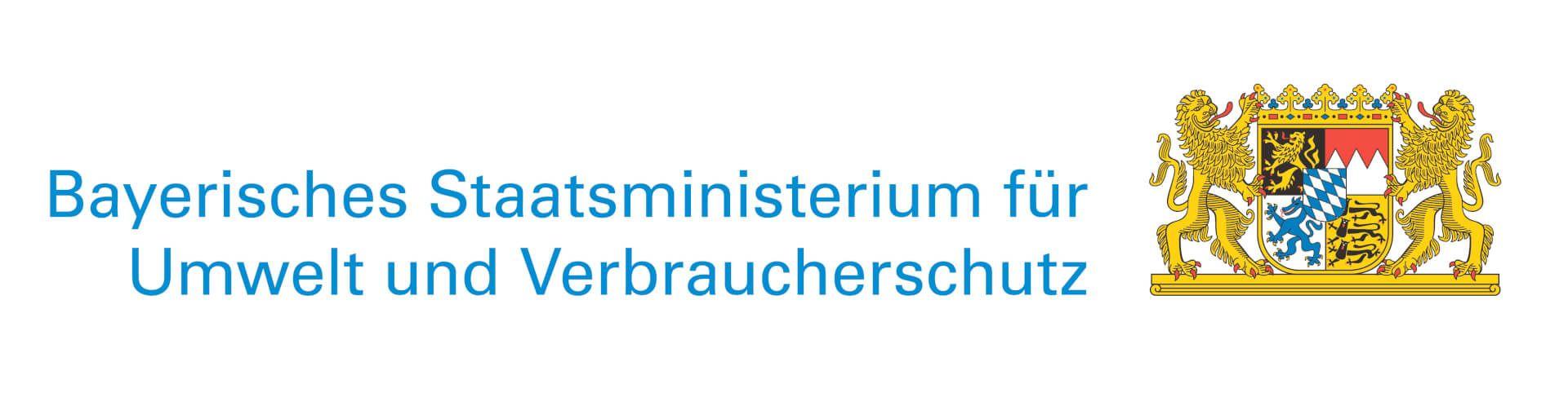 Logo des Bayrischen Staatsministerium für Umwelt und Verbraucherschutz