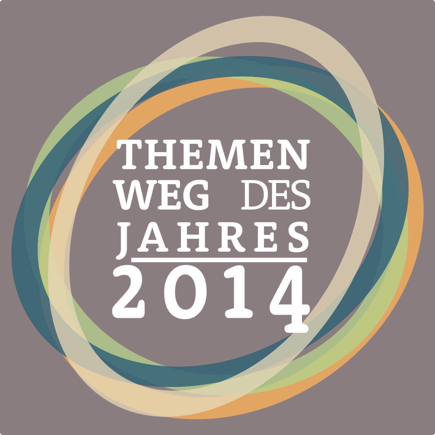 logo themenweg weg des jahres 2014