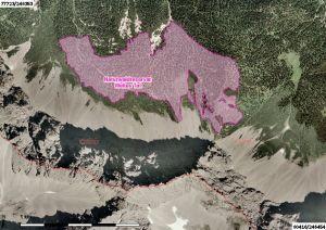 luftbild naturwaldreservat weites tal