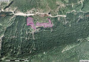 luftbild vom naturwaldreservat vomper loch 2
