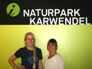 Maria und Marina vom Naturparkhaus in Hinterriß