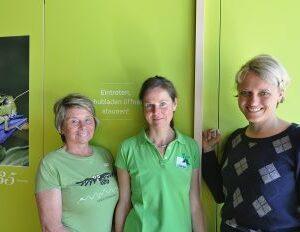 Mitarbeiter vom Naturparkhaus