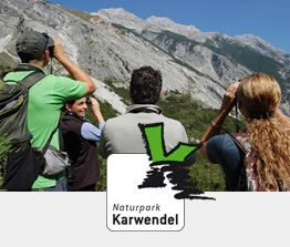 Vorschaubild Naturführungen mit Naturparklogo