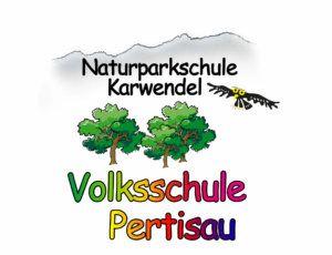 Logo der Naturparkschule Karwendel Volksschule Pertisau