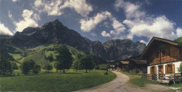 Panoramakarte Engalm