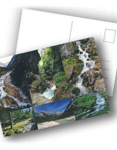 Postkarte WASSERreich