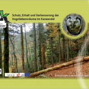 Schutz, Erhalt und Verbesserung der Vogellebensräume im Karwendel – Praxishandbuch für forstliche Maßnahmen
