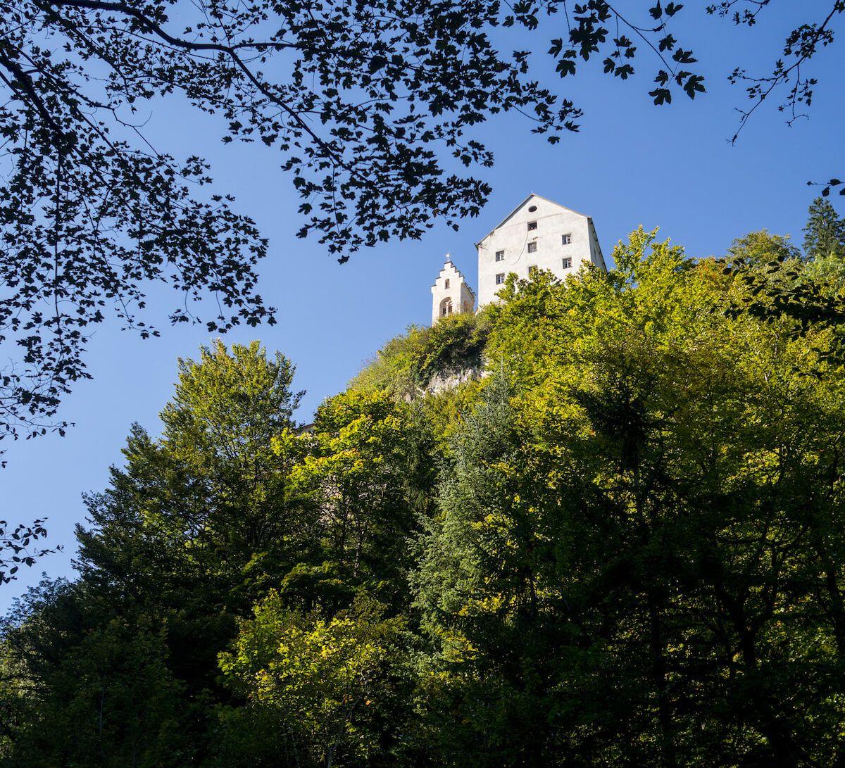 St. Georgenberg - durch die Wolfsklamm zu erreichen