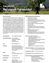 Steckbrief des Naturpak Karwendel