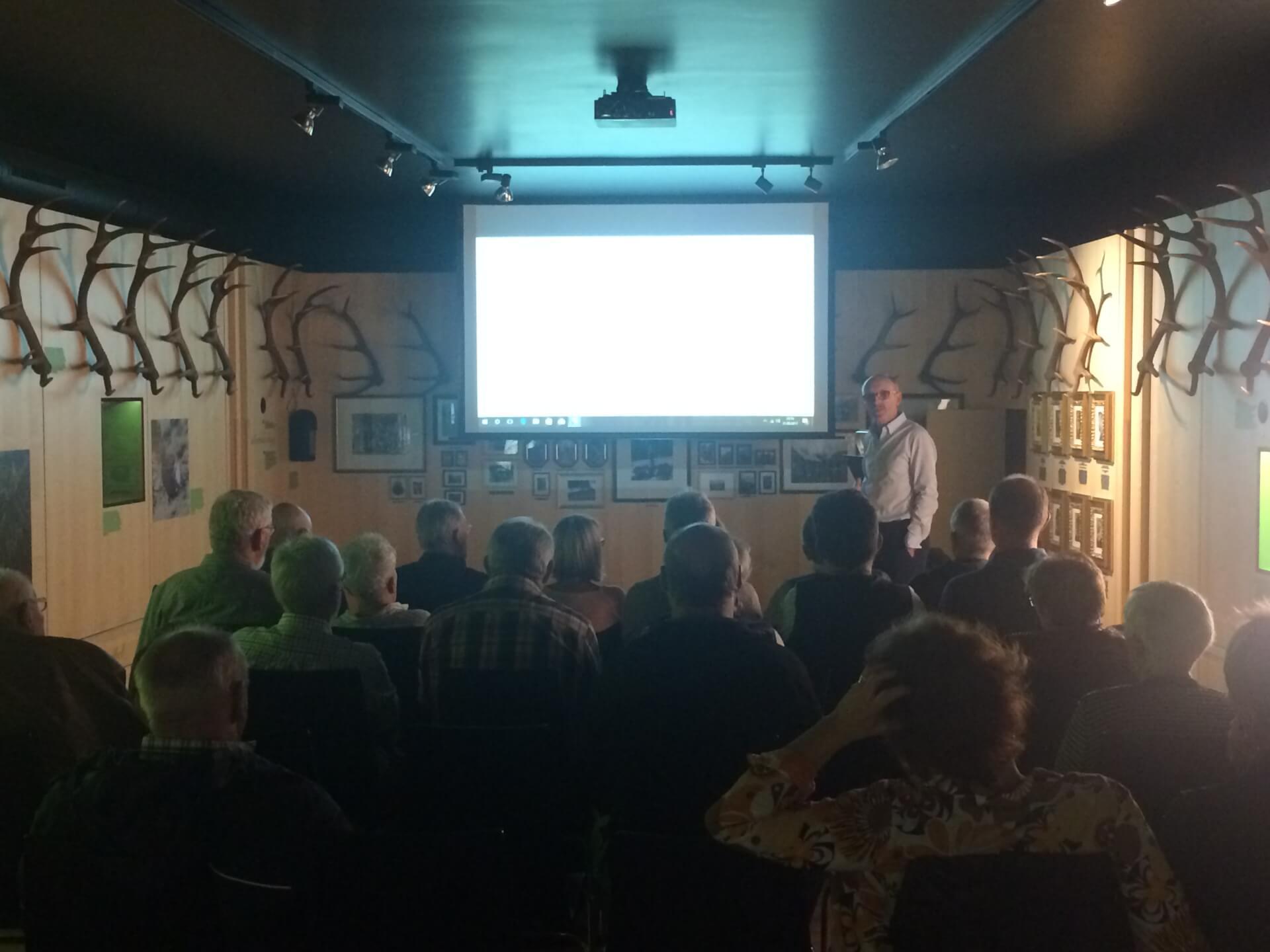 Vortrag im Naturparkhaus Hinterriss