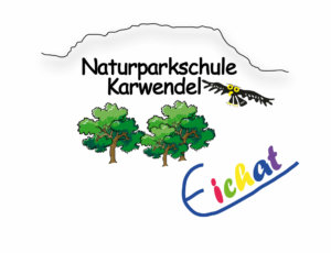 Logo der Naturparkschule Karwendel Volksschule Absam Eichat
