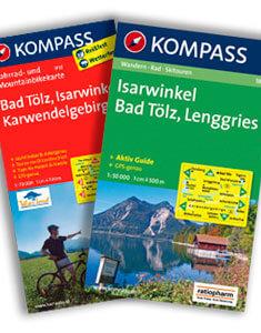Wander- und Fahrradkarte Bad Tölz - Isarwinkel