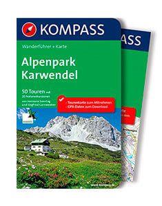 Wanderführer und KarteAlpenpark Karwendel