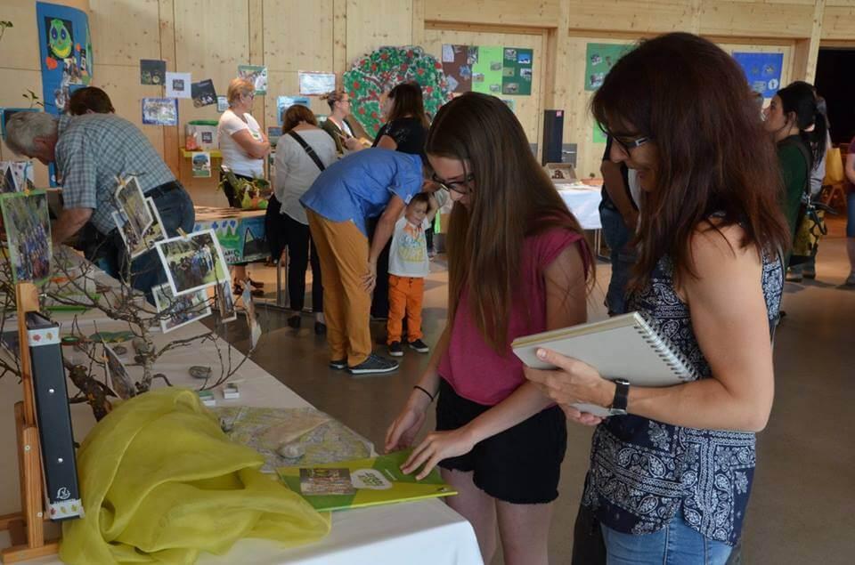 Ausstellung im Rahmen der Ernennung zur Naturparkschule